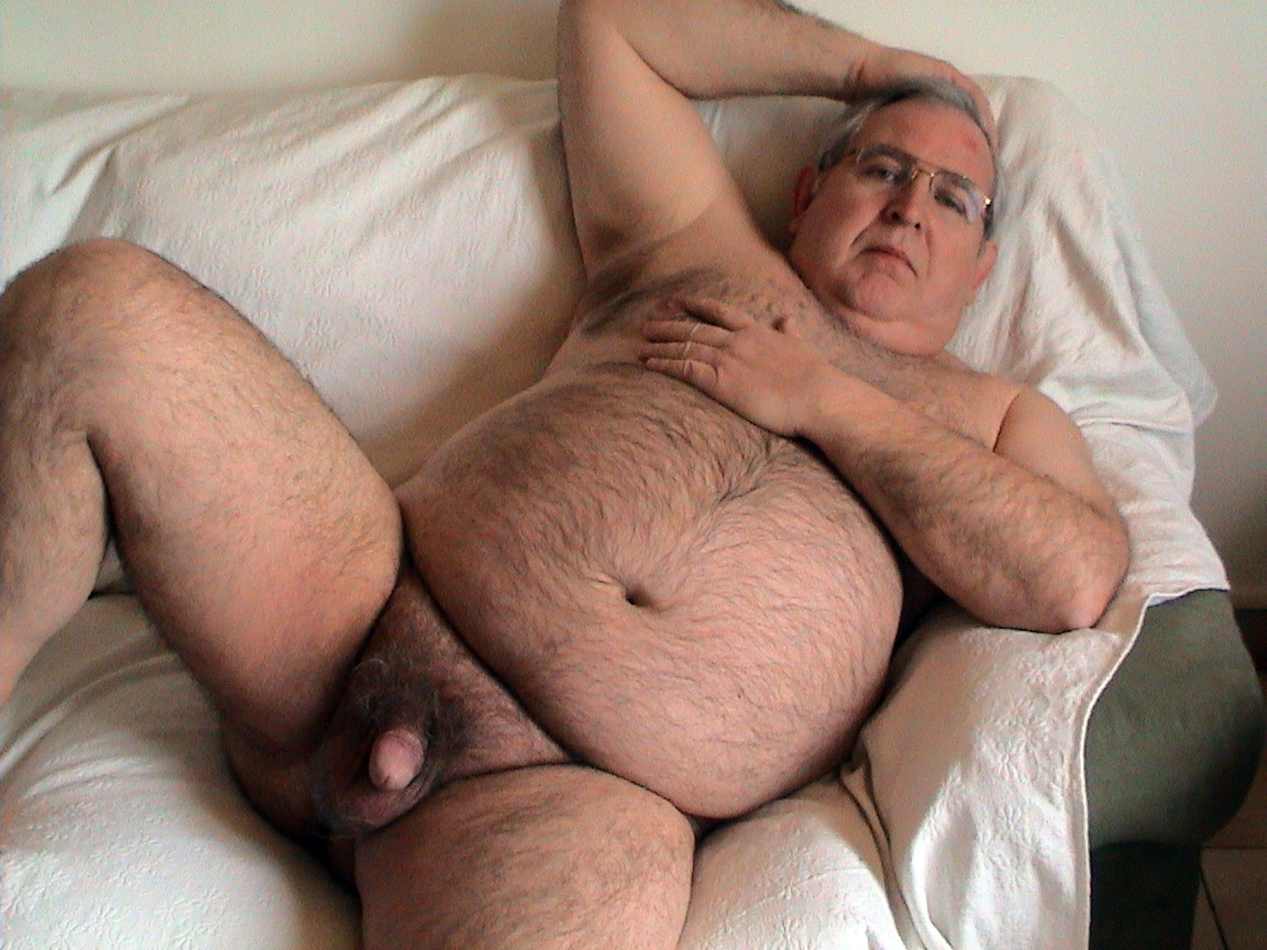 fat hairy naked old men