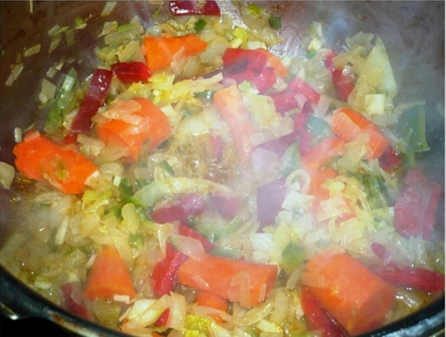 receta de rabo de toro a la cordobesa verdura pochando