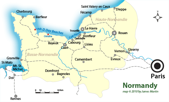 Location of d day beaches