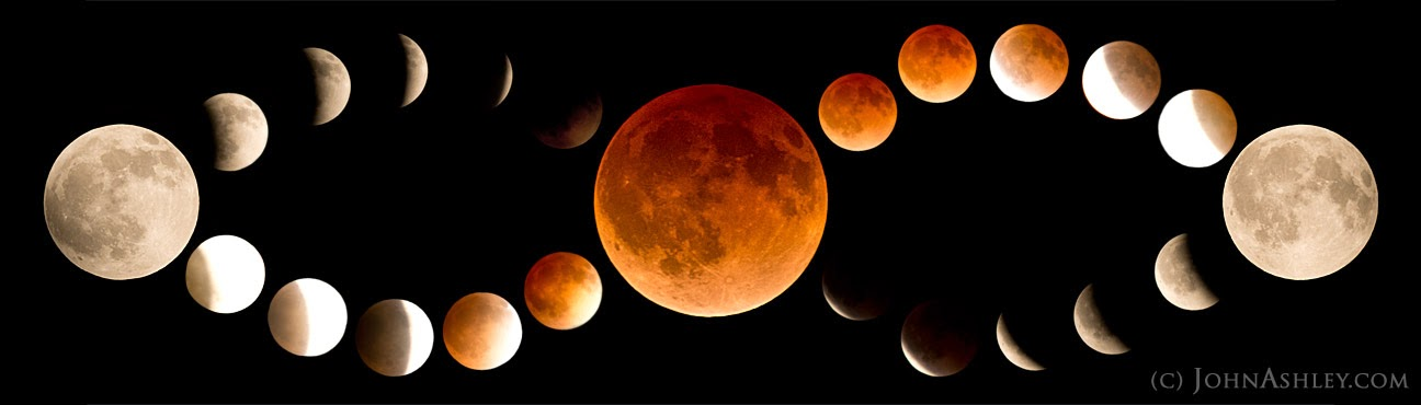 April 2014 lunar eclipse (c) John Ashley