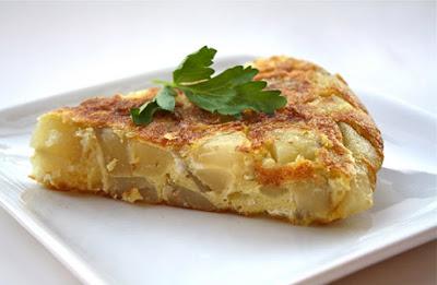 Resep Masakan Omelet Kentang Daging Asap