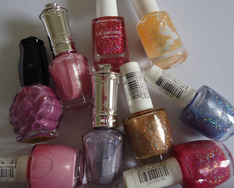 Making up 4 my age: My little Japanese nail polish collection