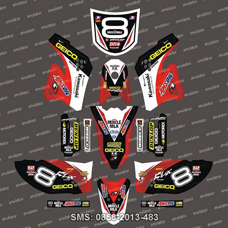 Kawasaki klx 150 geico