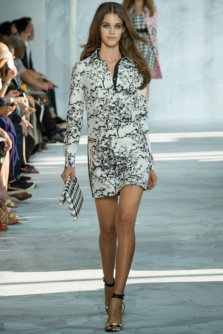 Diane von Furstenberg Spring 2015 Collections Part 4