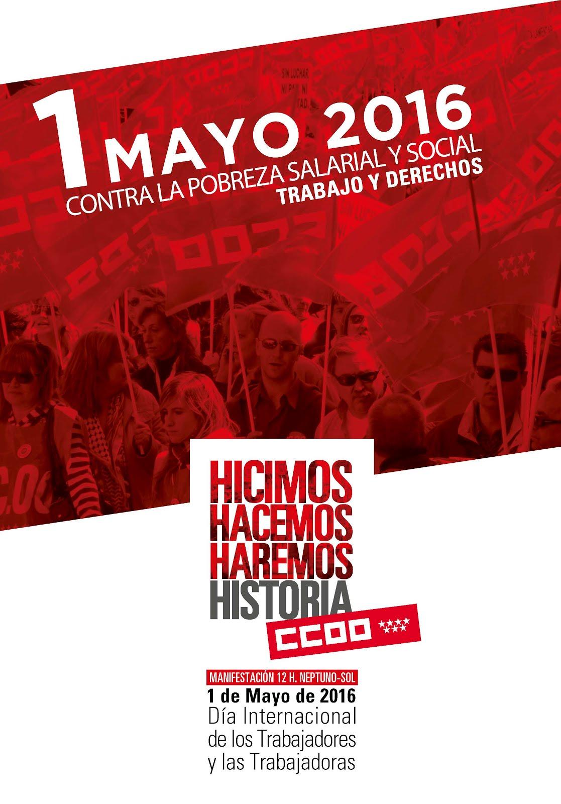 1 mayo Manifestación