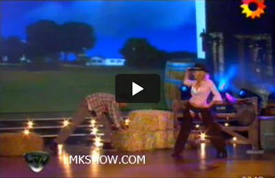 Video Virginia Gallardo Stripdance showmatch 2011
