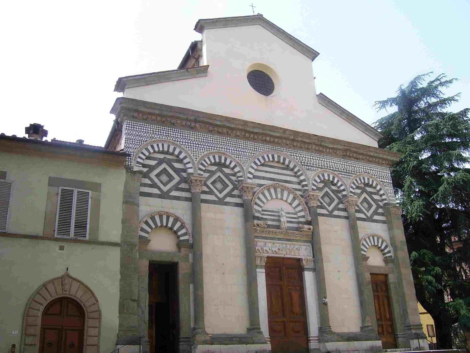 I promessi viaggi pistoia citt delle chiese e dei for Chiesa di san leone pistoia