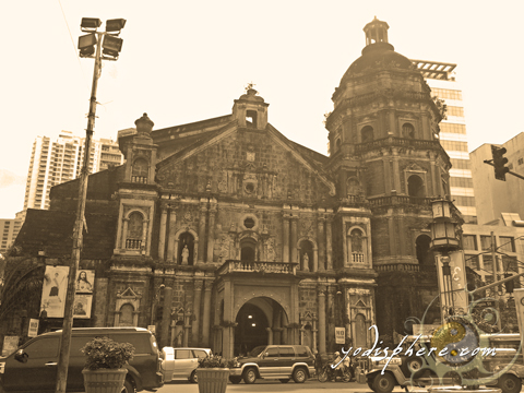 Binondo Church also known as Minor Basilica of St. Lorenzo Ruiz.