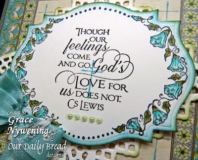 ODBD stamps, Antique Label Designs, Quote Collection 3, Scripture Collection 11, Flower Border, designed by Grace Nywening