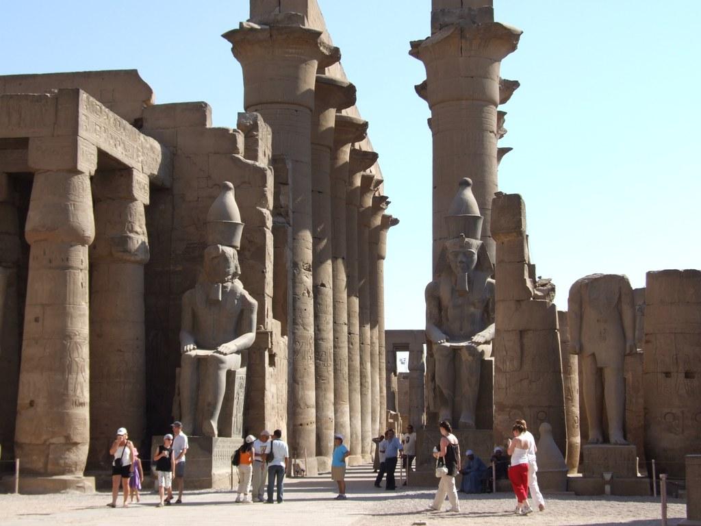 Arquitectura en el antiguo egipto for Arquitectura de egipto
