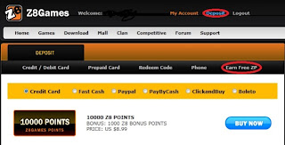 Site free zp points