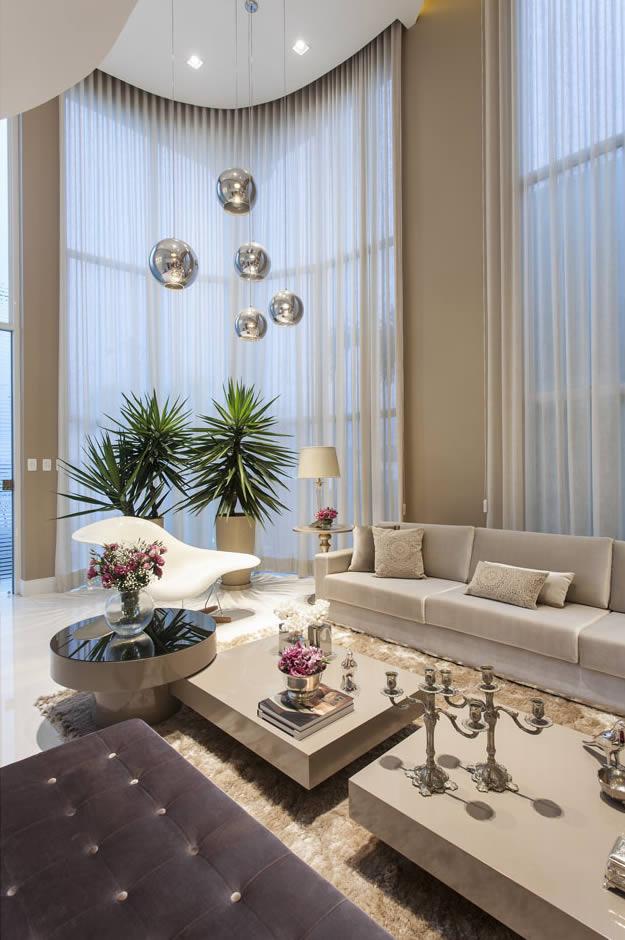 Sala De Estar Luxuosa ~ Salas de estar, tv e jantar integradas  maravilhosas! Confira todos