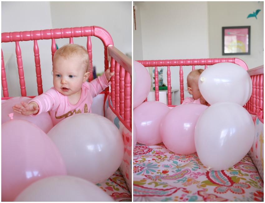 baby girl's first birthday