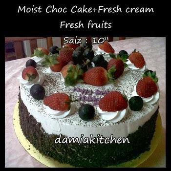 Birthday Kek-Fresh Cream
