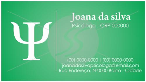 cartao de visitas psicologo simples 03 - Cartões de Visita para Psicólogos