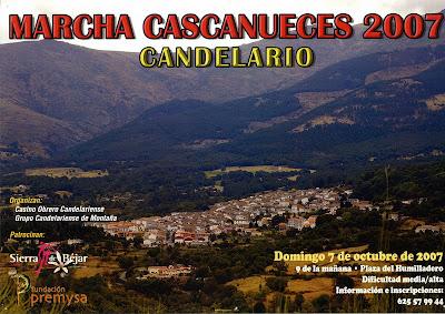 Marcha cascanueces 2007 Candelario Salamanca