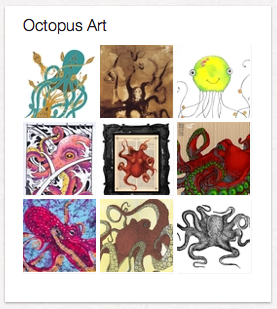 Pinterest octopus art