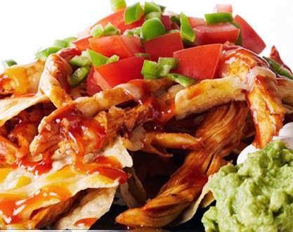 Bbq Chicken Nachos Recipe Apna Food Tv