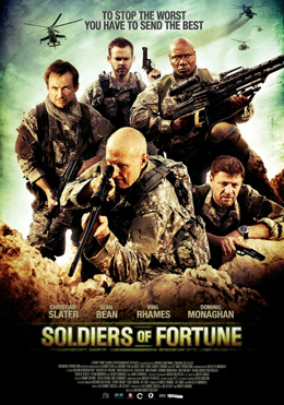 Soldiers of Fortune 2012 poster