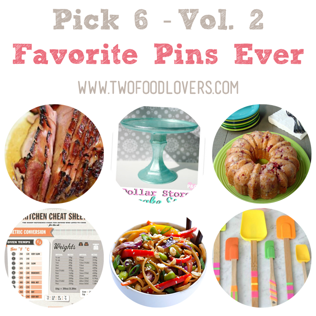 Pick 6 Vol 2 - Favorite Pins Ever