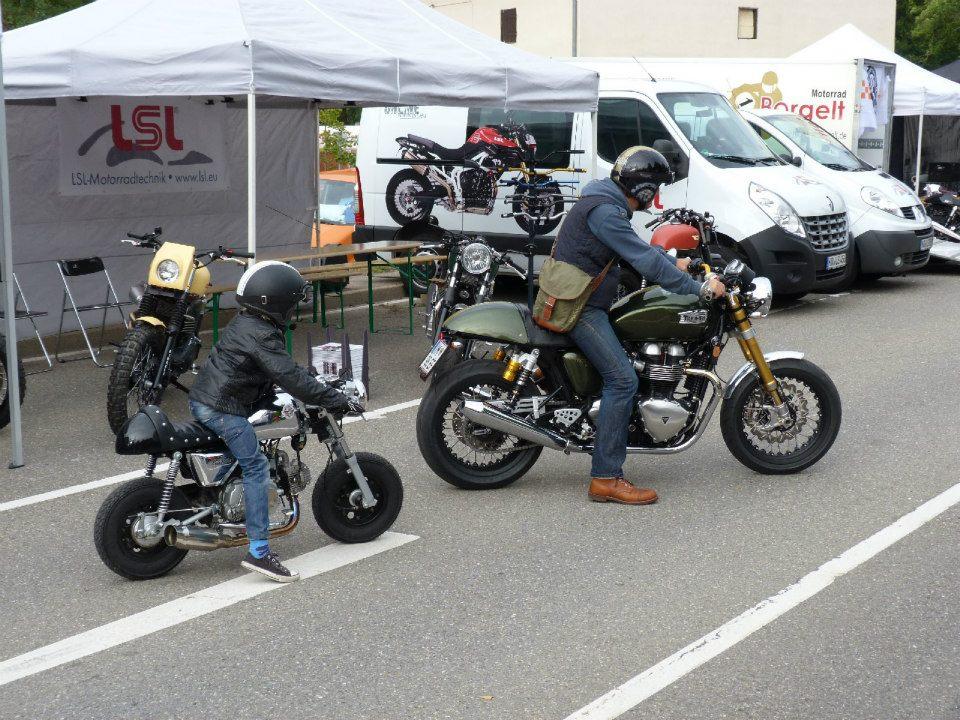 Bike Cafe Racer Parts : Mini cafe racer way speed