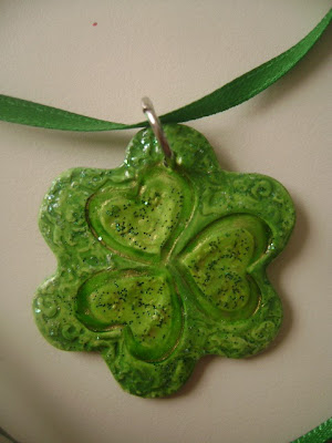 Magical Shamrock Flower Necklace