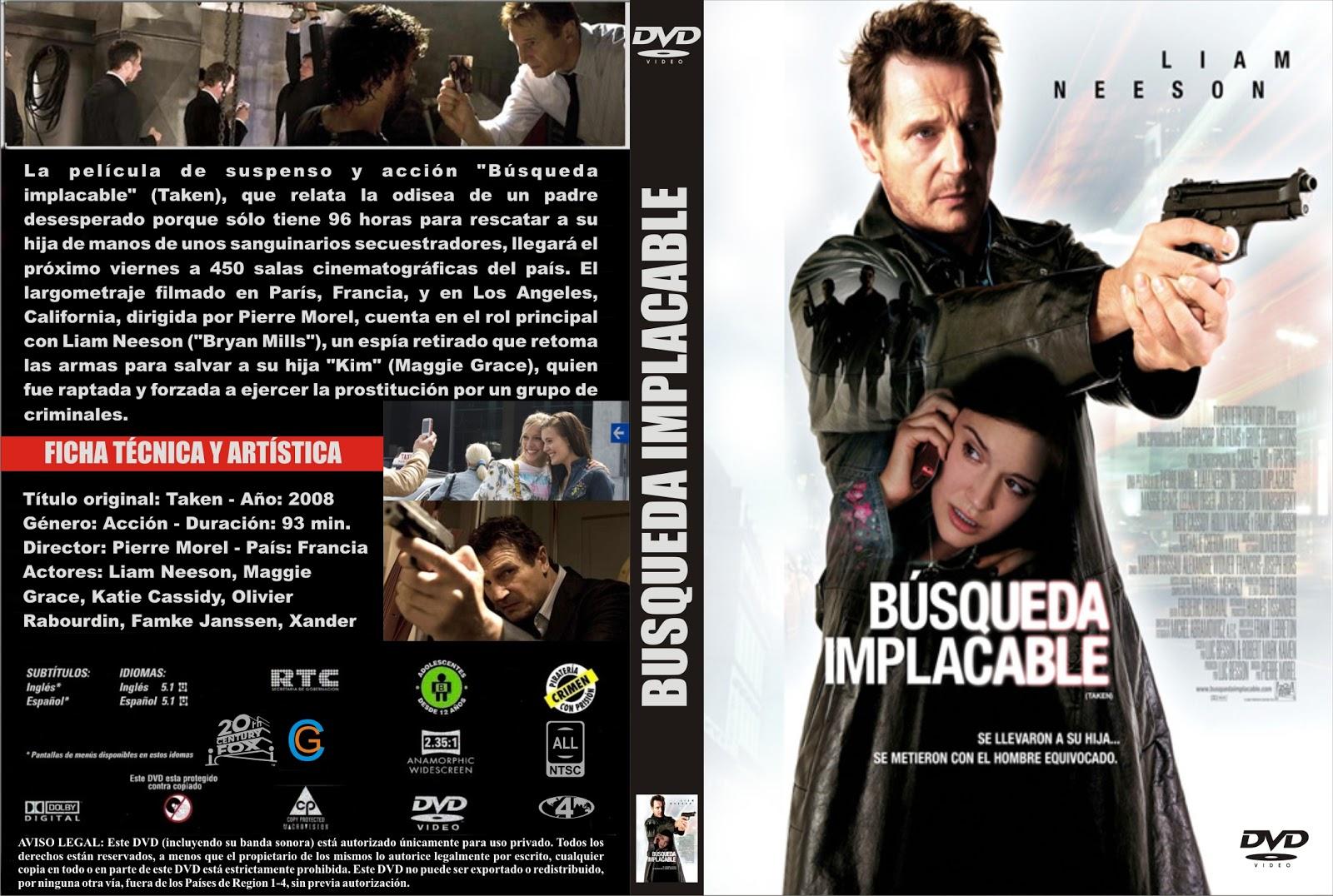 descargar busqueda implacable 2 en espanol latino