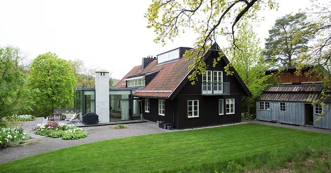 Estilo rustico ampliacion de casa rustica de diseno for Casa minimalista rustica