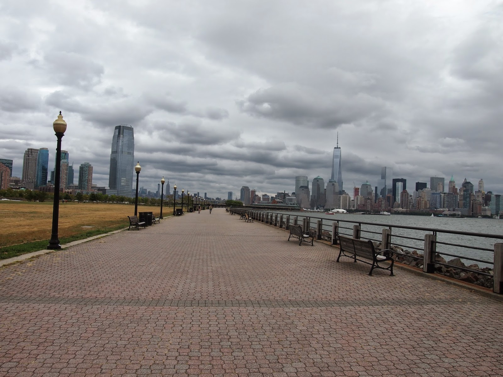 自由の女神へニュージャージーから行ける公園