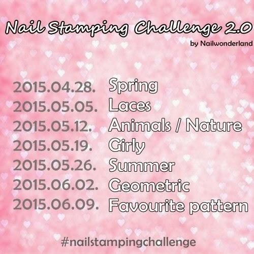 Nail Stamping Challenge
