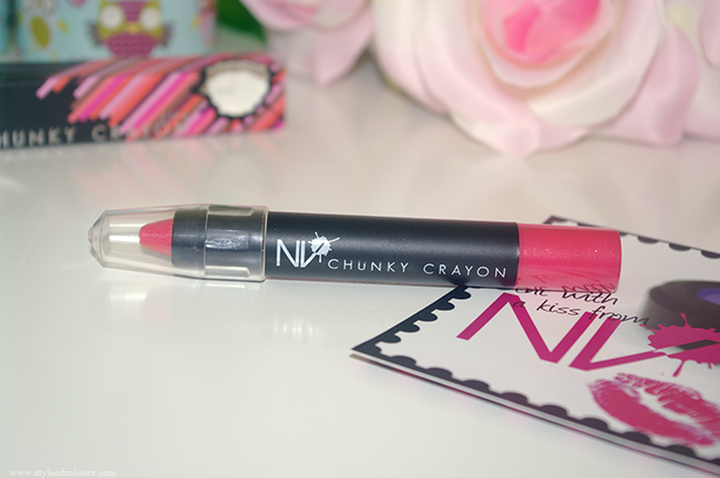 NV Colour Chunky Lip Crayon in Watermelon