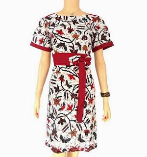 Toko Dress Batik Cantik Wanita Modern Model Terbaru
