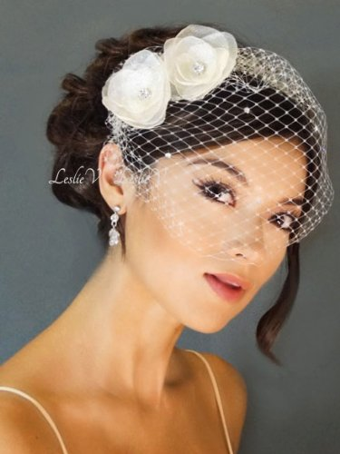 Wedding Birdcage Veil By Bridal By Leslie V FabEllis