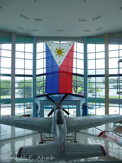 Philippine flag in PAF Aerospace Museum