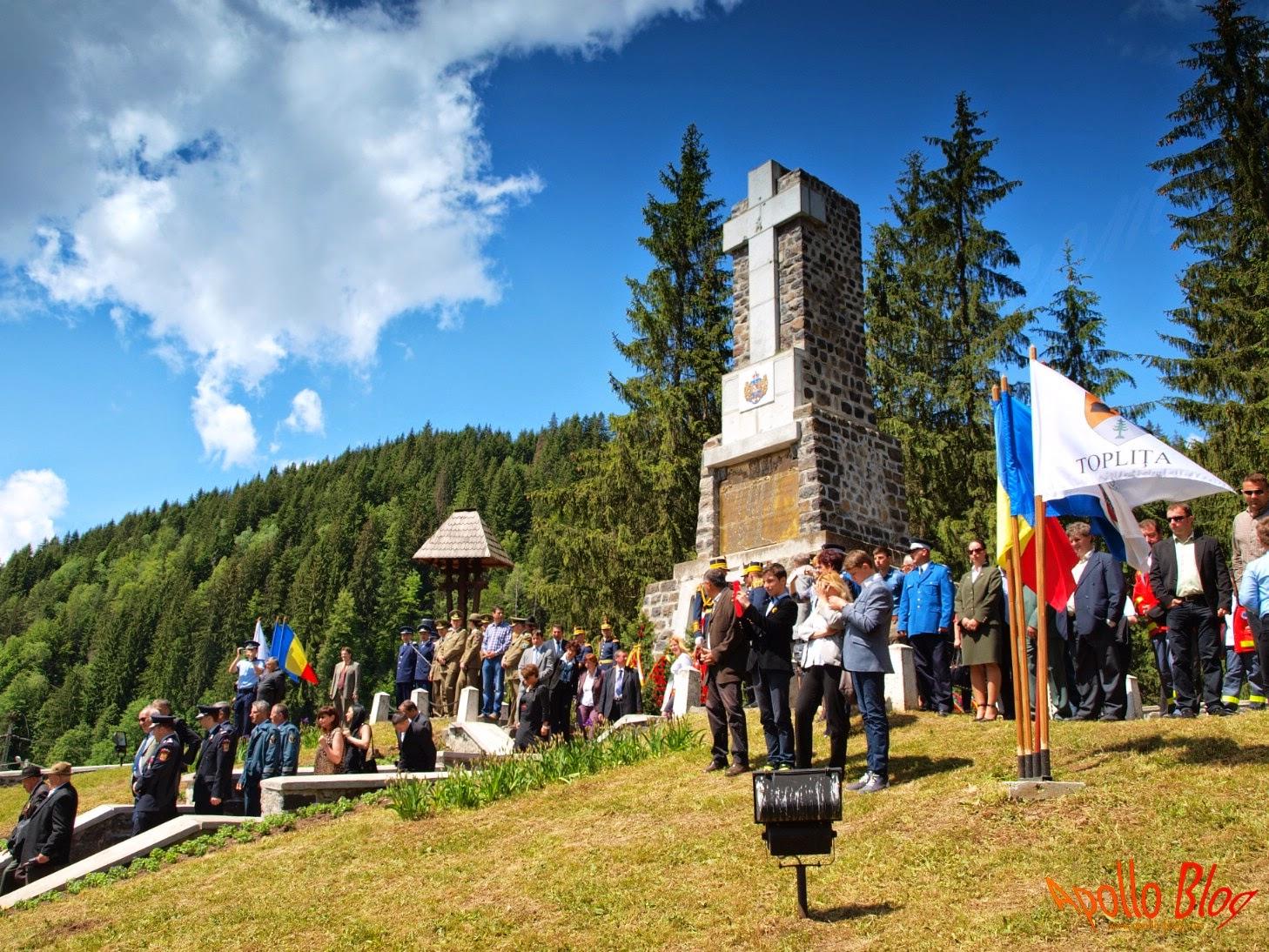 Monumentul Eroilor Toplita Secu 2014