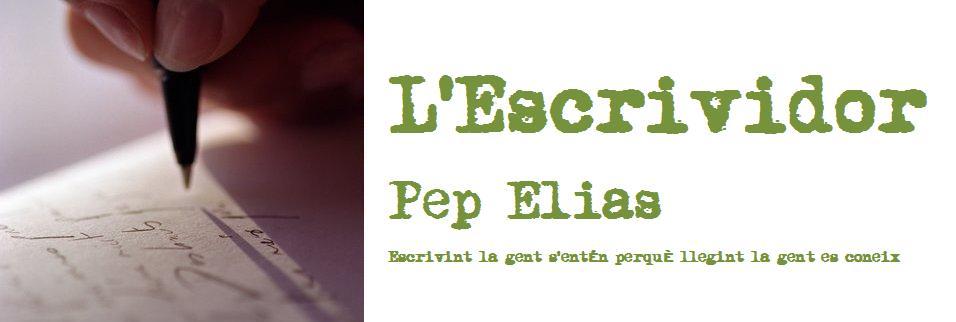 L'ESCRIVIDOR    Pep Elias