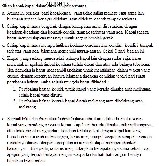 aturan 19