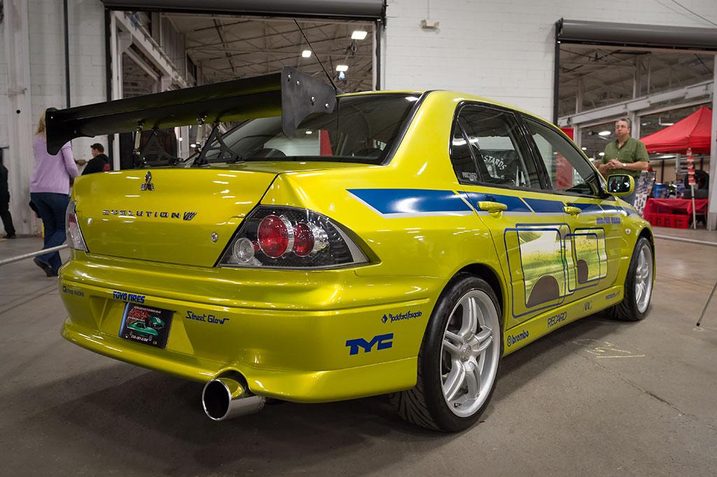 """""""2 Fast 2 Furious"""" movie car"""