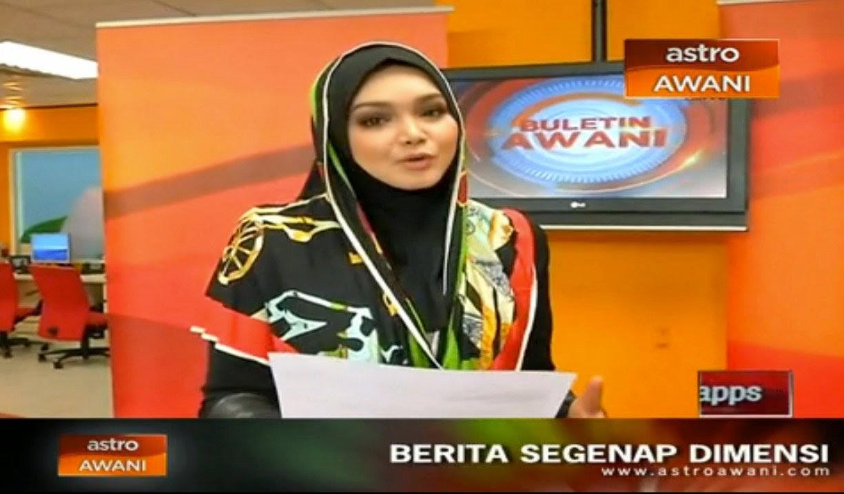Dato' Siti Nurhaliza Tunjuk Bakat Baca Berita di Awani! , info, terkini, hiburan, sensasi, siti nurhaliza,