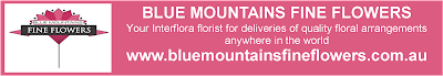 Blue Mountains Fine Flowers - for all your Interflora floral needs