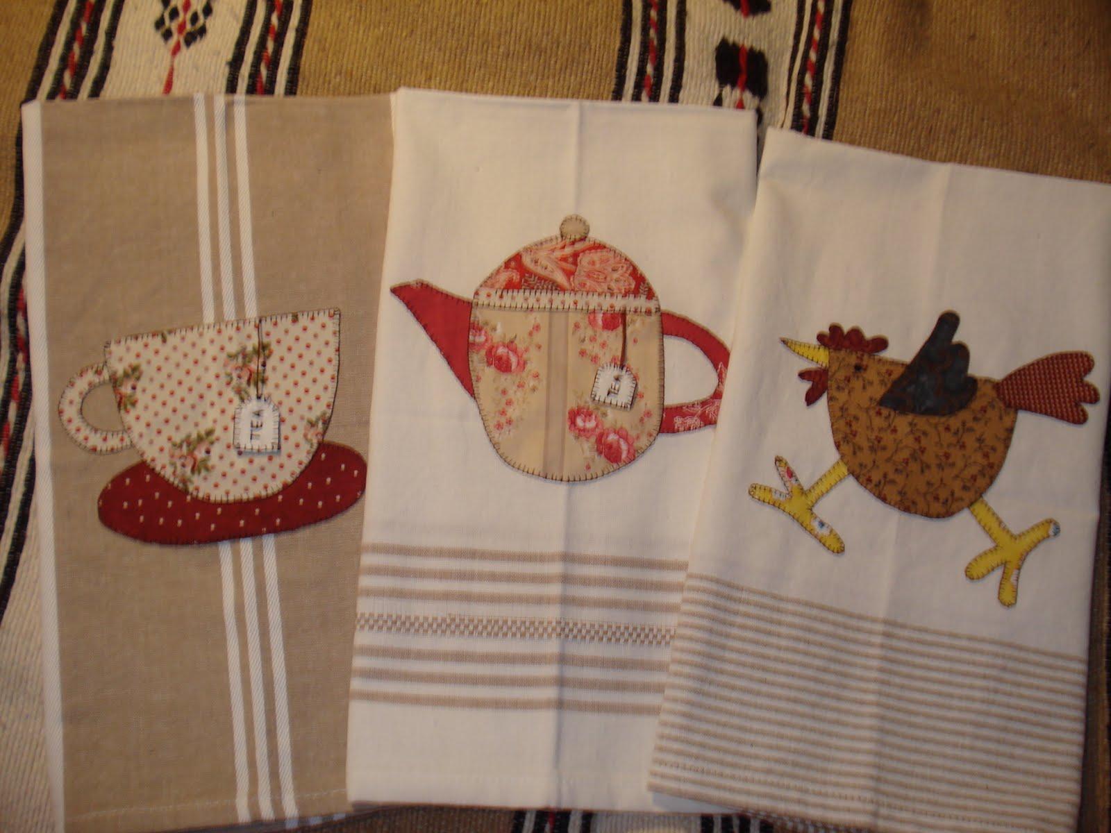 Patricia 39 s crafts encargo de kit de pa os de cocina - Panos de cocina ...