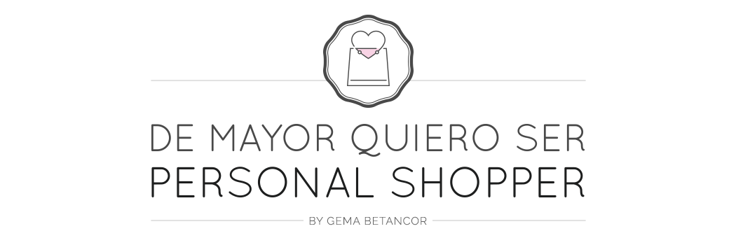 De mayor quiero ser personal shopper