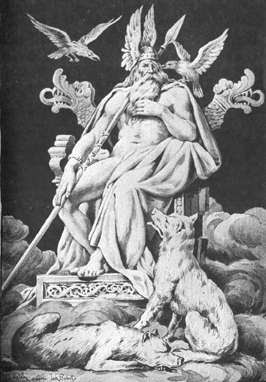nordische Mythologie Odin