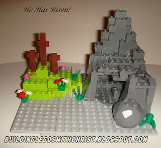 Biblical LEGO Creations, Resurrection Scene LEGO Creation