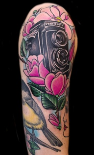 Creative -Camera Tattoos