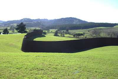 Richard Serra Te Tuhirangi Contour