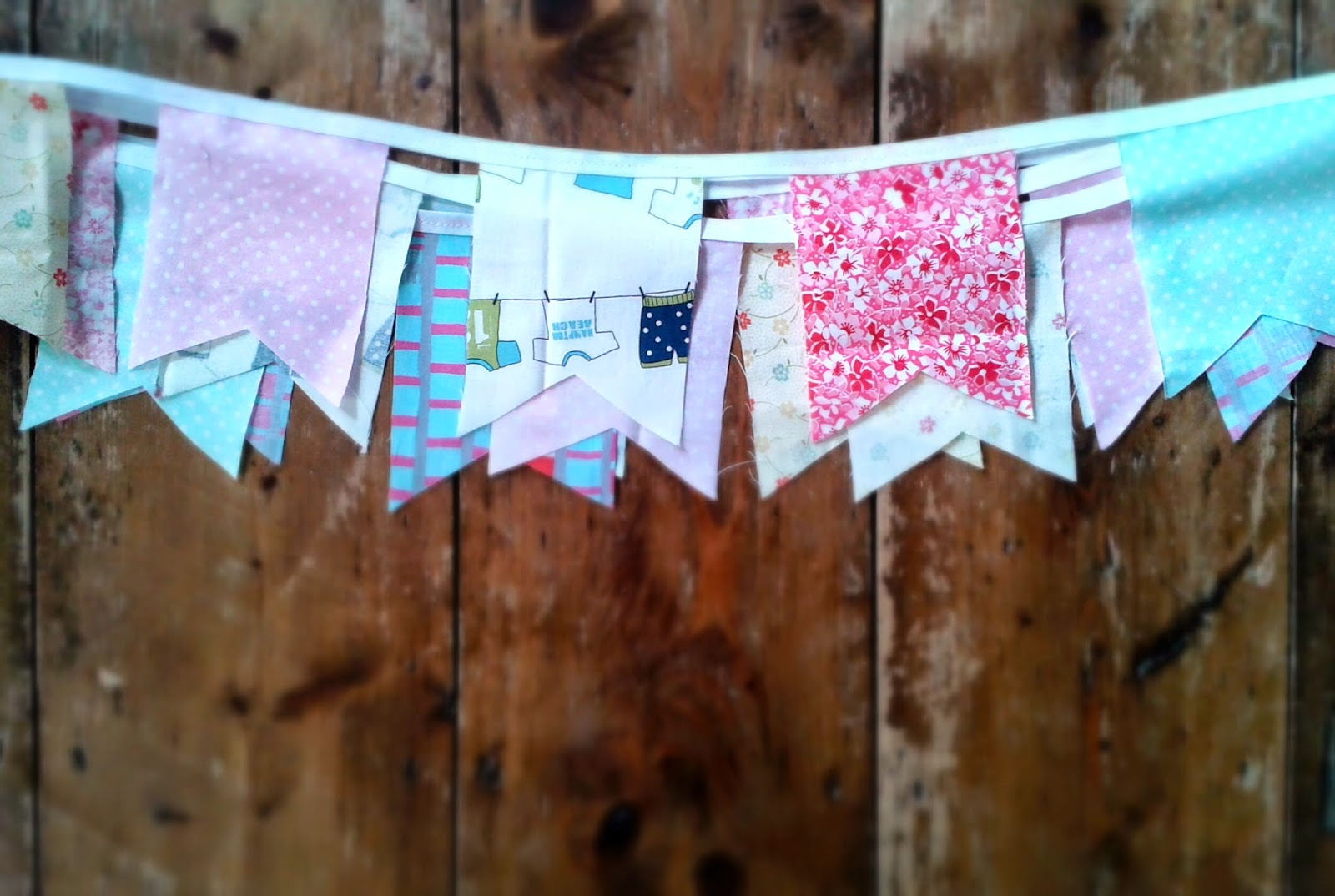 Project 365 day 87 - Bunting for the garden // 76sunflowers