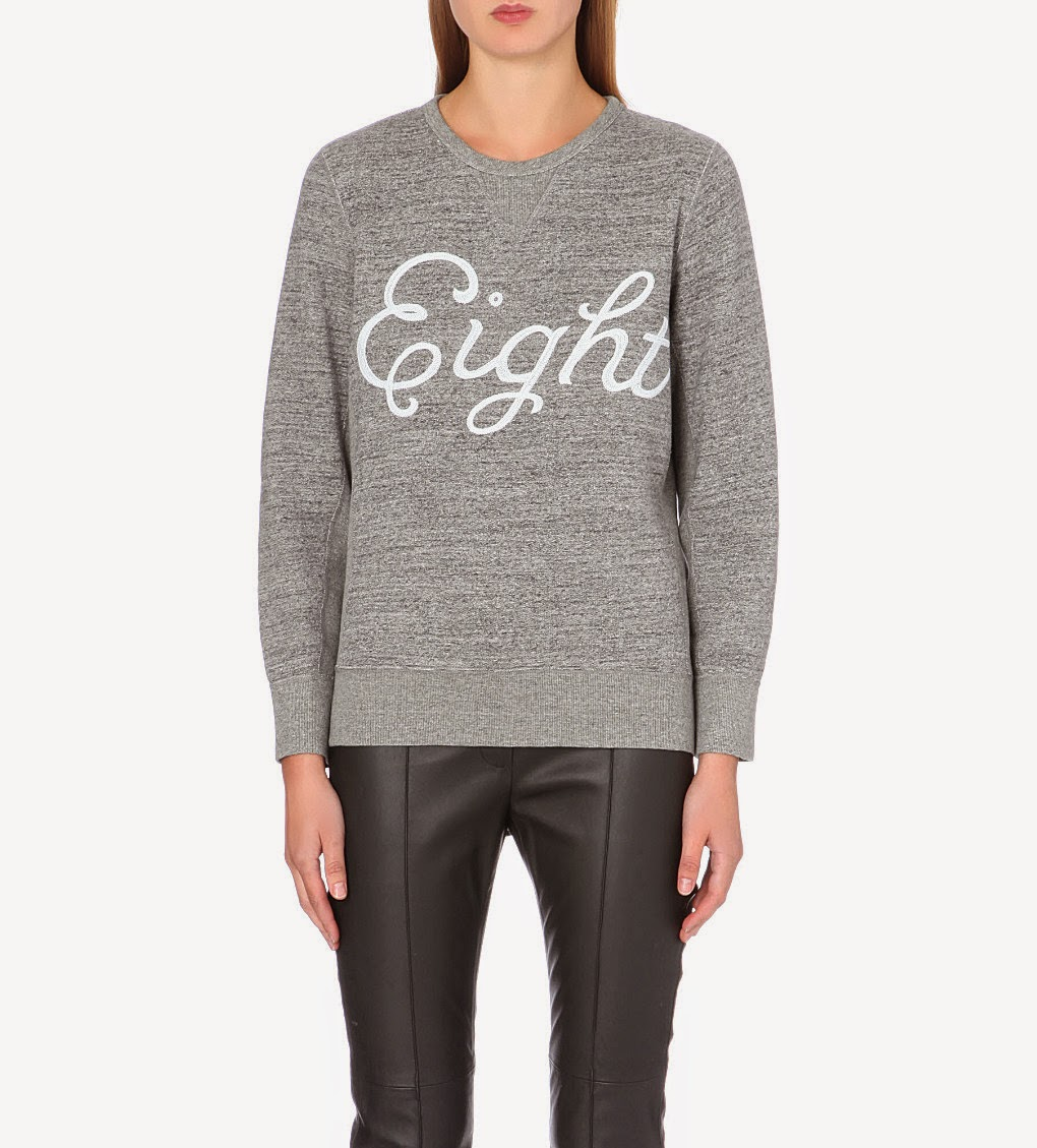 rag & bone grey sweater