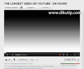nonton video youtube paling panjang sedunia