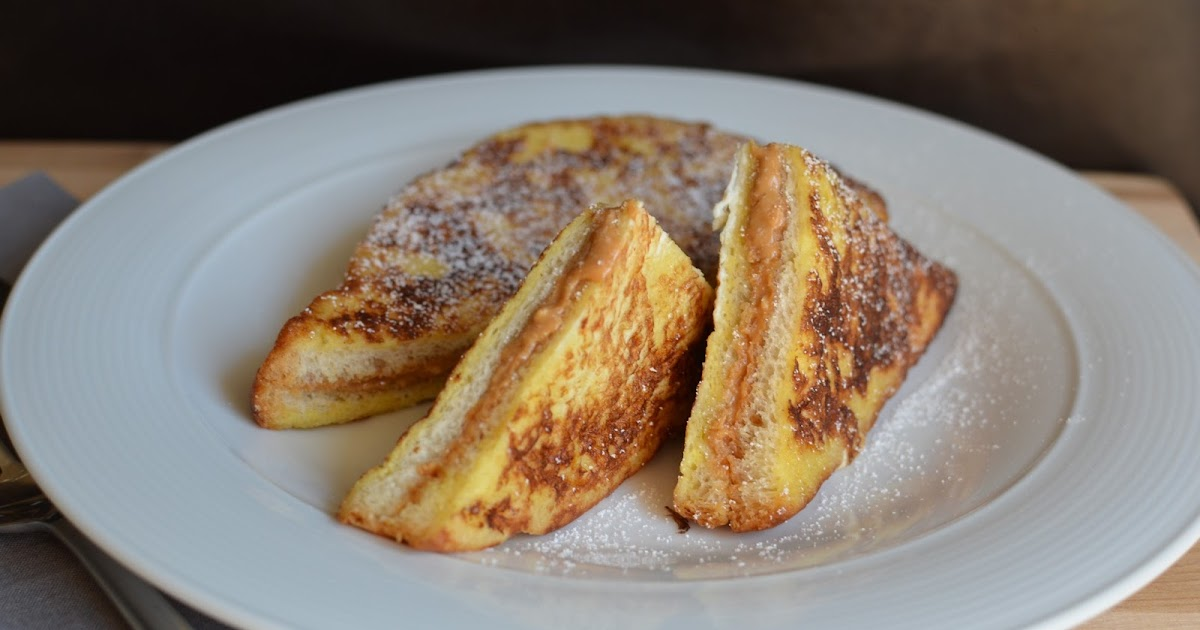 Playing with Flour: Peanut butter-stuffed French toast